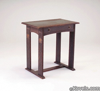 Gustav Stickley writing desk