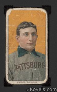 Baseball card, Honus Wagner