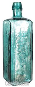 Bottle, Sarsaparilla medicine, Dr. Wilcox