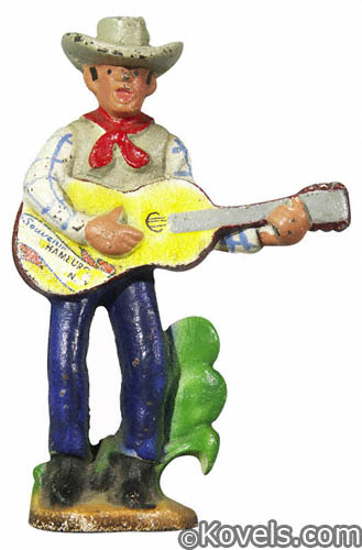 Cowboy with Guitar bottle opener