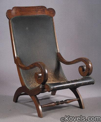 Mahogany Campeachy chair