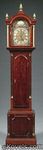 Mahogany tall-case clock