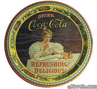 Hilda Clarke Coca-Cola tip tray