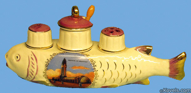 Condiment set, Verdun memorial