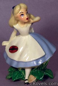 Alice in Wonderland Disney figurine
