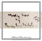 Betty Lou Nichols mark
