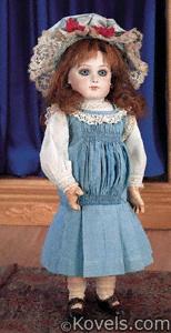 Doll, Jumeau, Portrait Bebe