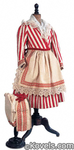 Doll clothing, Normandy folklore outfit