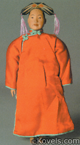 Door of Hope dolls, Manchu woman
