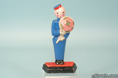 Messenger boy doorstop