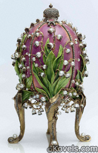 Fabergé Easter Egg Lilies-of-the-Valley