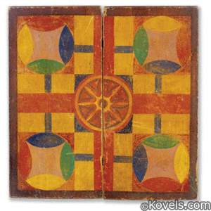 Game board, Parcheesi