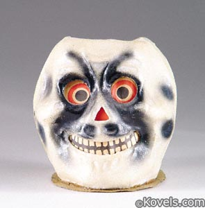 Early papier-mâché jack-o