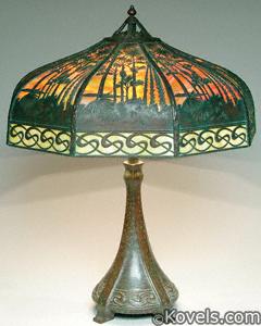 Handel Hawaiian Tropics lamp