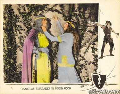 Lobby card, Robin Hood, 1922