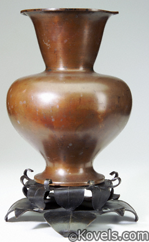 Marie Zimmermann Chinese-form vase