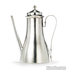 Metalwork, German, coffeepot, Emil Lettre