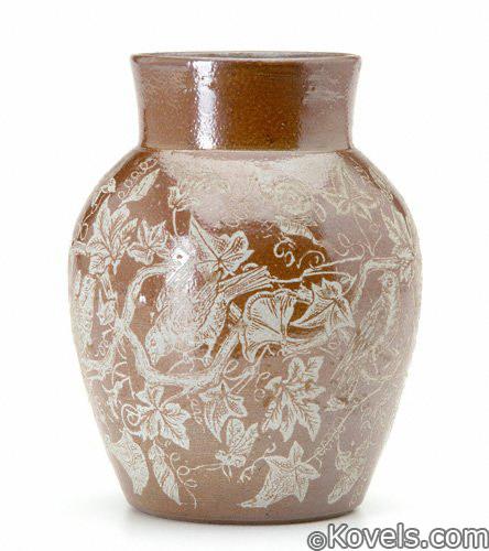 Charles Graham Pottery stoneware vase