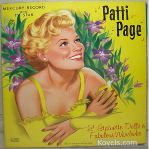 Patti Page Paper Doll Book