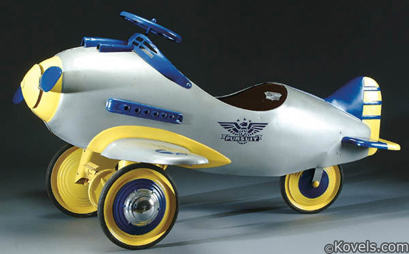 Steelcraft Pursuit airplane pedal car