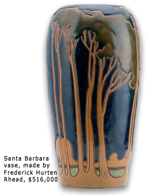 World Record American Art Pottery Vase Latest News Latest News