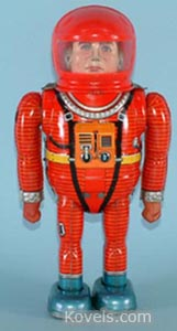 Toy, robot, Astroman, Nomura