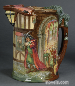 Royal Doulton Pied Piper jug