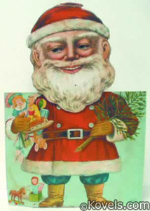 Animated Santa nodder