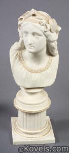 Copeland Parian bust, Oenone