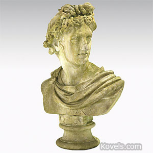 Sculpture, bust of Apollo