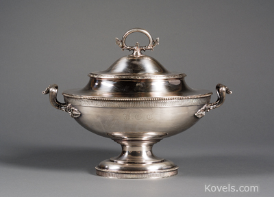 Tiffany & Co. sterling silver tureen