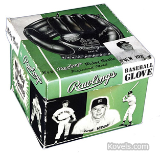 Baseball glove box