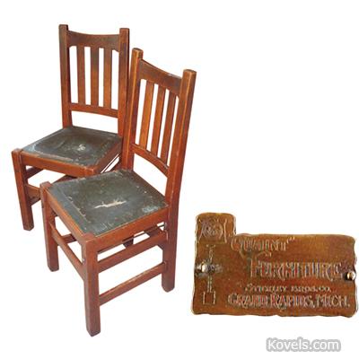 Stickley Quaint Chairs Collectors Concerns
