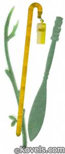 Figural plastic swizzle sticks
