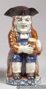 Toby jug, Ralph Wood-type
