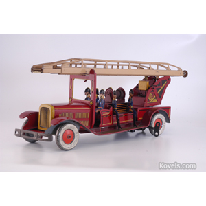 Toy fire truck, Tippco