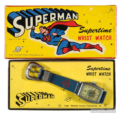 "Superman ""Supertime"" wristwatch"