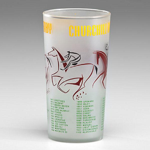 Kentucky Derby glass