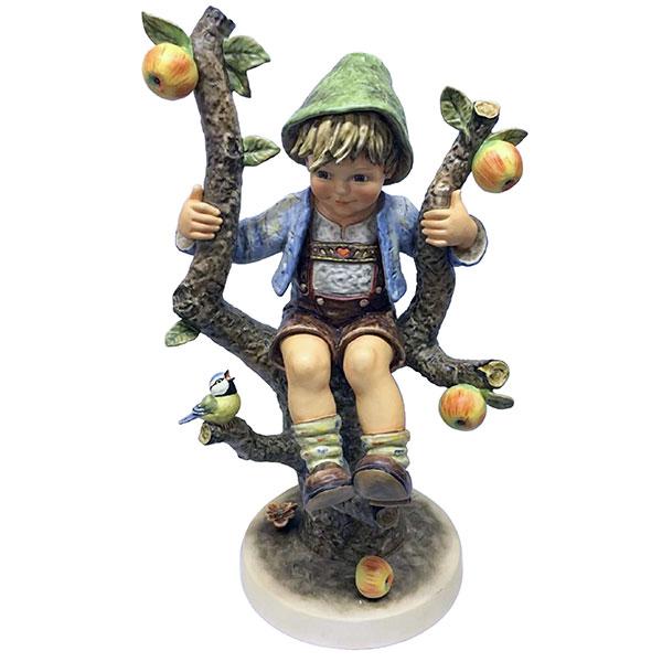 hummel apple tree boy figurine