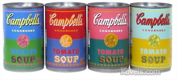 andy warhol campbell soup can label