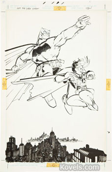 dark knight returns frank miller batman comic art