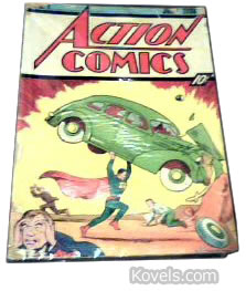 action comics comic book 1930s 1940s
