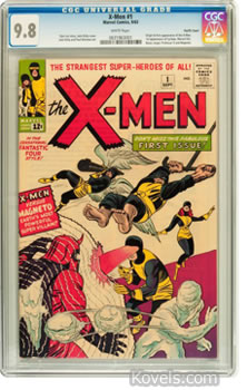 x-men no 1 comic book 1963