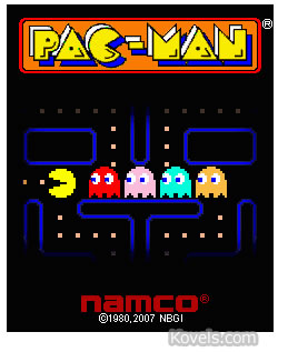 Pac-Man video game - photo courtesy of Namcogames.com