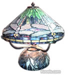 fake tiffany lamp