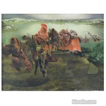 richard oelae painting