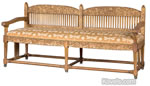 Louis Comfort Tiffany and Samuel Colman aesthetic movement settee