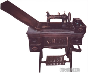 White Sewing Machine | Collectors' Concerns | Kovels Komments