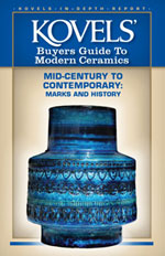 Kovels Buyers' Guide to Modern Ceramics: Mid-Century to Contemporary: Marks and History