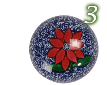 Paperweight, Poinsettia